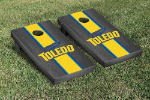 Toledo Cornhole Boards w/ Rockets Logo - Bean Bag Toss