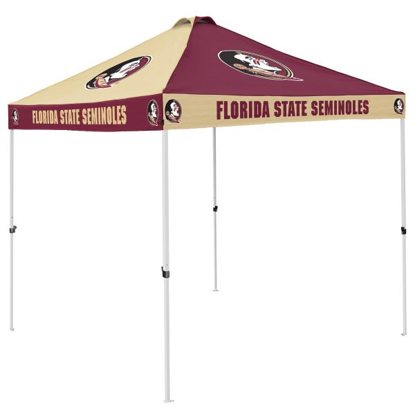 Florida State Tent w/ Seminoles Logo - 9 x 9 Checkerboard Canopy  sc 1 st  Team Sports Covers & State Tent w/ Seminoles Logo - 9 x 9 Checkerboard Canopy