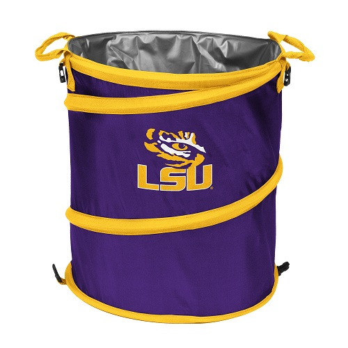 Lsu Tigers Collapsible 3 In 1 Cooler