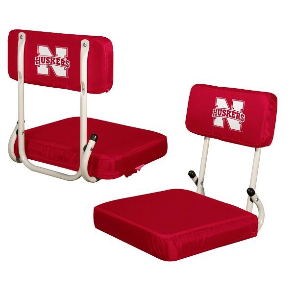 Nebraska Stadium Seat W Cornhuskers Logo Hardback