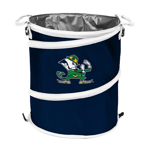 Notre Dame Fighting Irish Collapsible 3 In 1 Trash Can