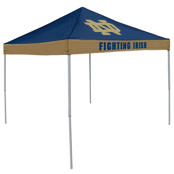 Notre Dame Tent w/ Fighting Irish Logo - 9 x 9 Economy Canopy  sc 1 st  Team Sports Covers & Dame Tent w/ Fighting Irish Logo - 9 x 9 Economy Canopy