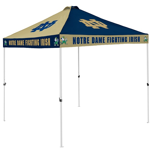 Notre Dame Tent W Fighting Irish Logo 9 X 9