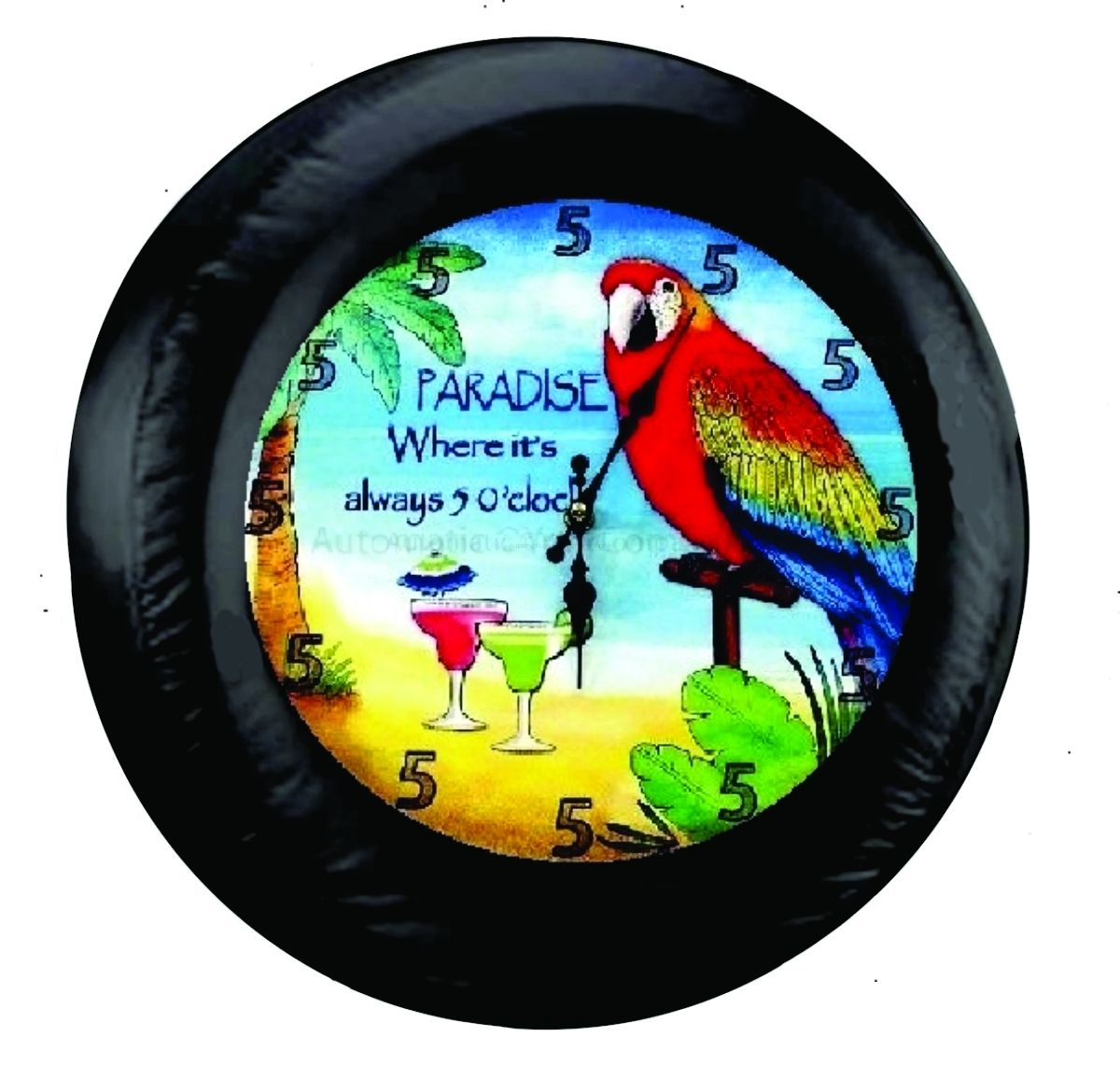 Its 5 o clock somewhere bird in paradise tire cover covers