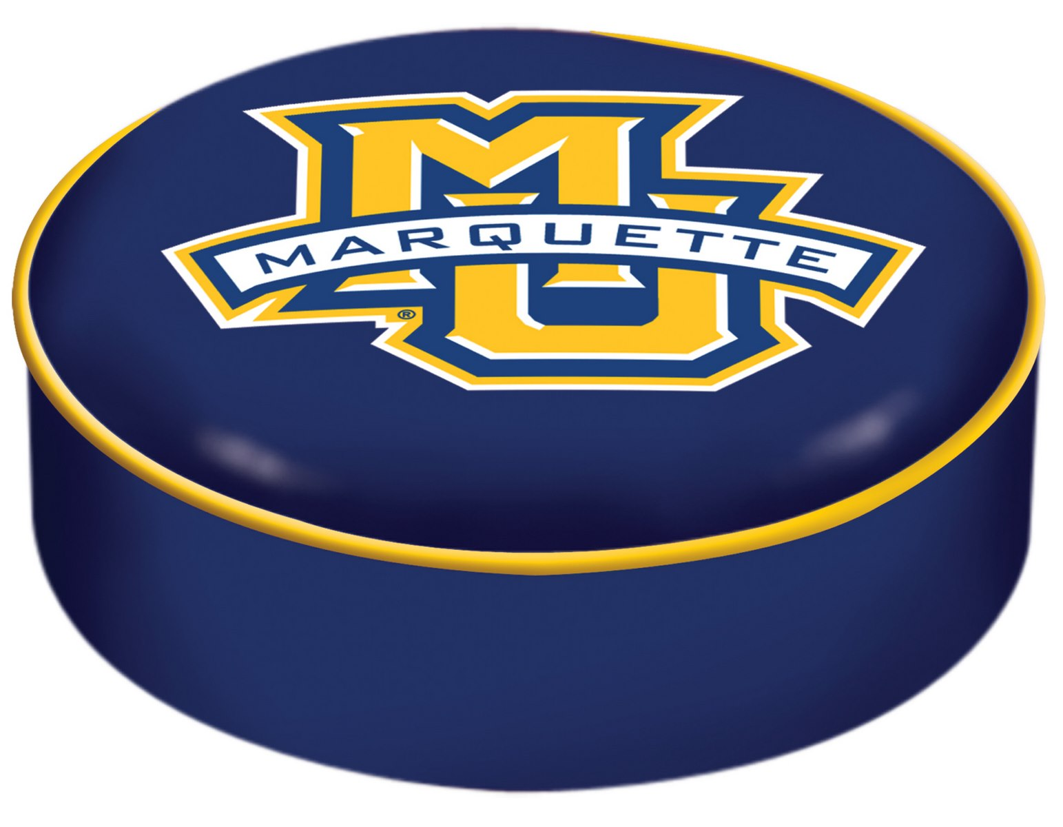 Marquette University Seat Cover W Officially Licensed