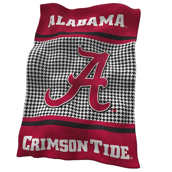 University Of Alabama Houndstooth Ultrasoft Blanket W