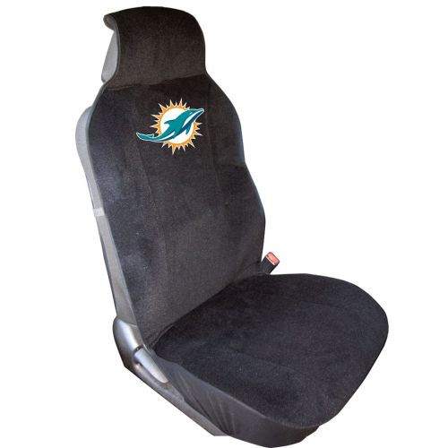 Pleasing Miami Dolphins Seat Cover Officially Licensed Team Logo Pabps2019 Chair Design Images Pabps2019Com