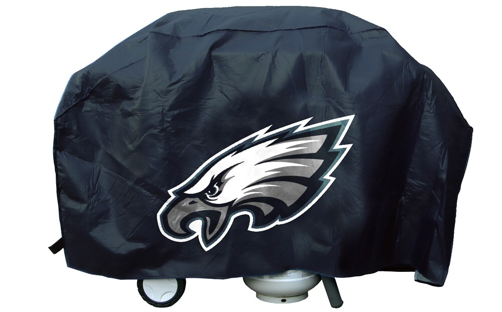 Philadelphia Grill Cover with Eagles Logo on Black Vinyl  : PhiEagles DL from www.teamsportscovers.com size 1000 x 621 jpeg 115kB