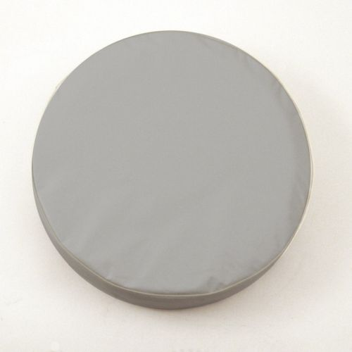 Gray Tire Cover For Jeep And Rv Plain Vinyl