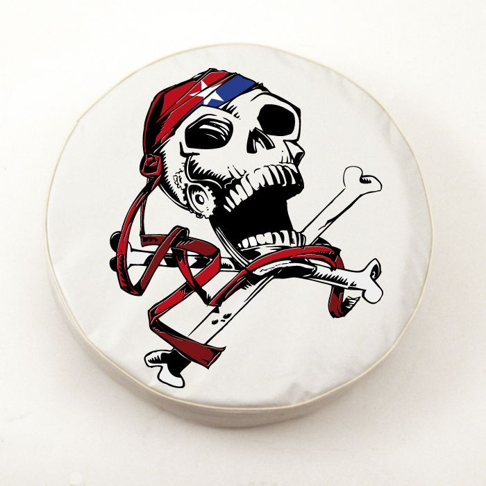 USA Jolly Roger Tire Cover on White Vinyl : USA JollyRoger from www.teamsportscovers.com size 700 x 700 jpeg 60kB