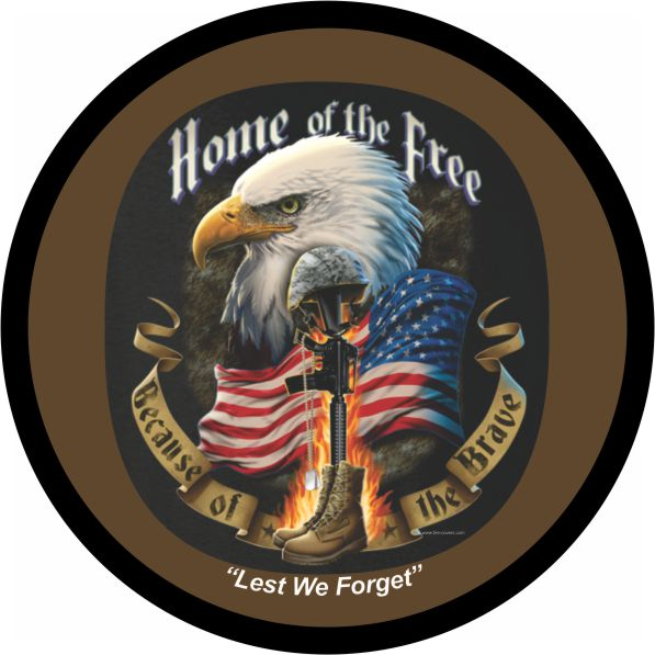 Home of the Free Spare Tire Cover on Black Vinyl : home20of20the20free from www.teamsportscovers.com size 597 x 597 jpeg 53kB
