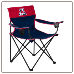 Arizona Wildcats Big Boy Logo Chair