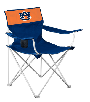 Auburn Tigers Canvas Logo Chair