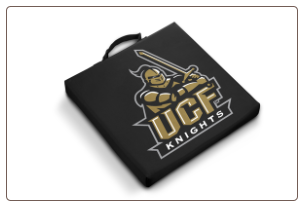 Central Florida Golden Knights Team Logo Stadium Cushion