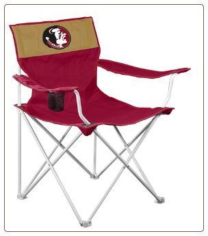 Florida State Seminoles Canvas Logo Chair