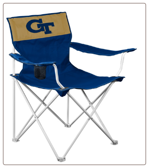 Georgia Tech Yellow Jackets Canvas Logo Chair