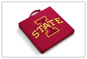 Iowa State Cyclones Team Logo Stadium Cushion