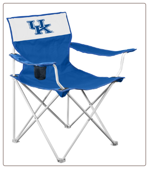 Kentucky Wildcats Canvas Logo Chair
