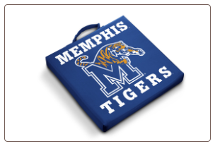 Memphis Tigers Team Logo Stadium Cushion