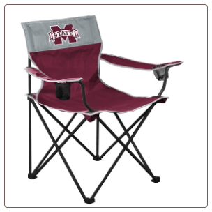 Mississippi State Bulldogs Big Boy Logo Chair