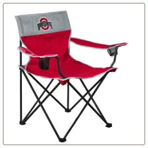Ohio State Buckeyes Big Boy Logo Chair