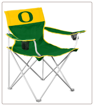 Oregon Ducks Big Boy Logo Chair