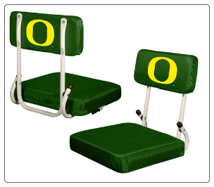 Oregon Ducks Hardback Stadium Seat
