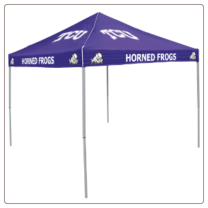 Texas Christian Horned Frogs 9' x 9' Tailgate Canopy Tent