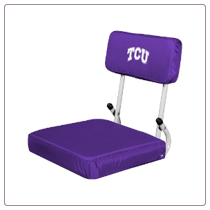 Texas Christian Horned Frogs Hardback Stadium Seat
