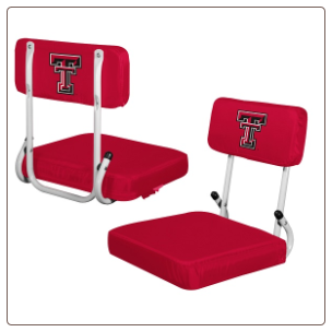 Texas Tech Red Raiders Hardback Stadium Seat