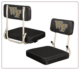 Wake Forest Demon Deacons Hardback Stadium Seat