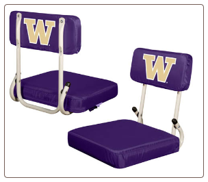 Washington Huskies Hardback Stadium Seat