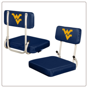 West Virginia Mountaineers Hardback Stadium Seat