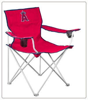 Anaheim Angels MLB Deluxe Adult Logo Chair