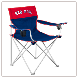 Boston Red Sox MLB Big Boy Logo Chair