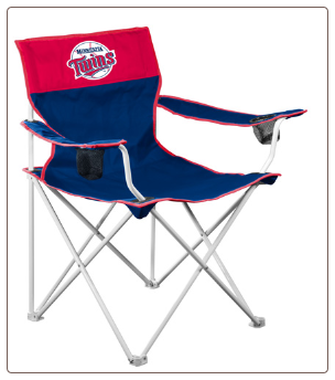 Minnesota Twins MLB Big Boy Logo Chair