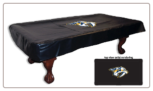 Nashville Predators Logo Billiard Table Cover by HBS
