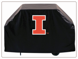 Illinois Fighting Illini College Grill Cover