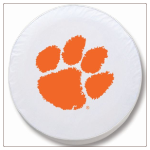 Clemson Tigers College Logo Tire Cover