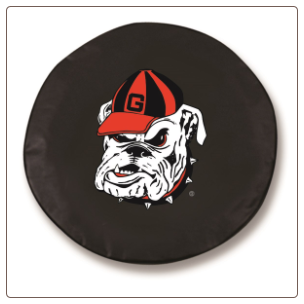 Georgia Bulldogs College Tire Cover