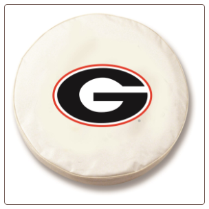 Georgia Bulldogs G College Tire Cover
