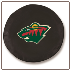 Minnesota Wild NHL Tire Cover Black