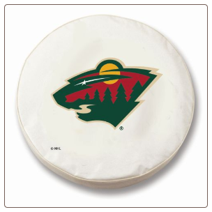 Minnesota Wild NHL Tire Cover White