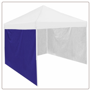 Logo Chair Canopy Tent Side Panel - Purple