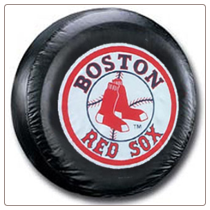 Boston Red Sox MLB Black Spare Tire Cover